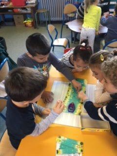 Jeux coopératifs dans la classe