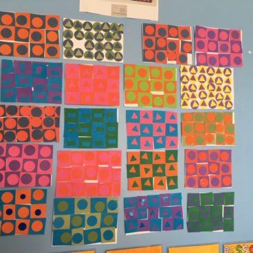 Oeuvres d'art… à la manière de Victor Vasarely