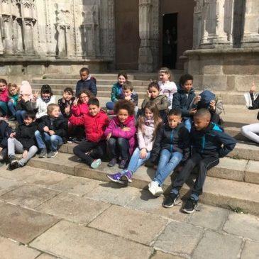 Visite guidée de Nantes au Moyen Age pour la classe de CE1-CE2