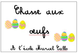 Chasse aux œufs à Marcel Callo