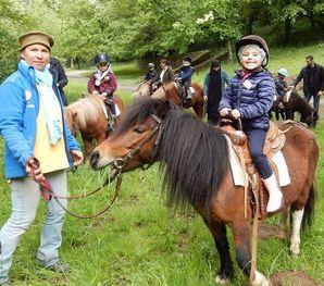 PS-MS : la promenade des poneys – dernière séance.