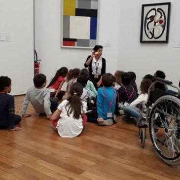 Les CP/CE1 au Musée des Beaux Arts