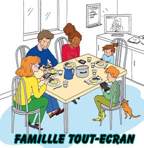 Famille et écran:   avez-vous des astuces ?