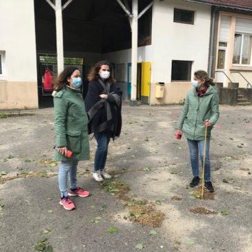 Une rentrée après le confinement : des tagueuses  Callo